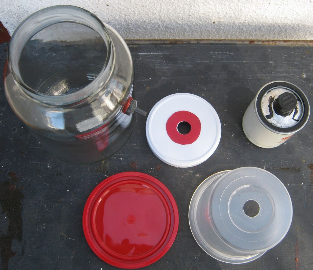 Picture of Parts Needed.