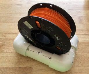 PVC 3D Printer Filament Bobbin Holder - Version 1.0