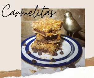 How to Make Carmelitas (a Crunchy, Chewy, Caramel & Chocolate Cookie Bar)