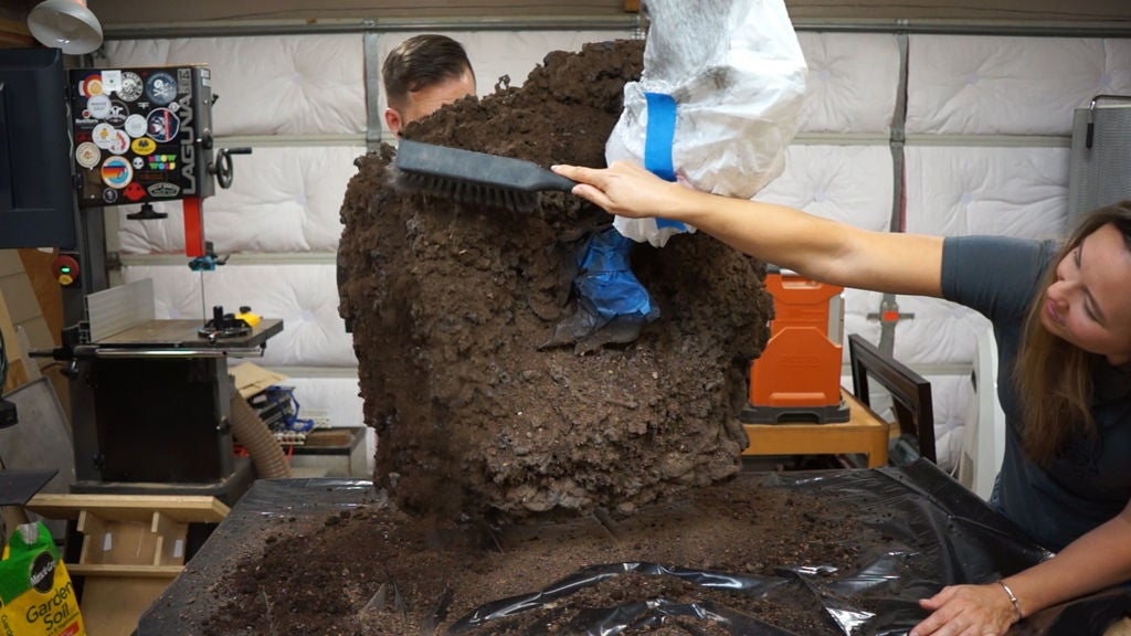 Picture of Add Real Dirt to Your Dirt Mound