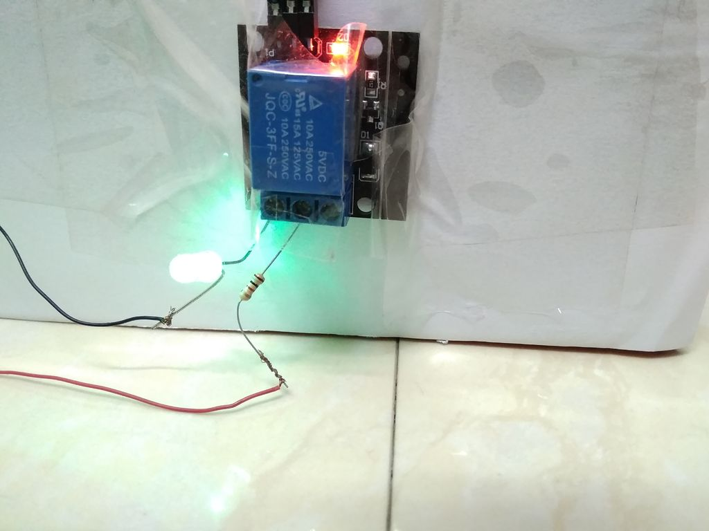 Picture of Human Detection Box - Prototype