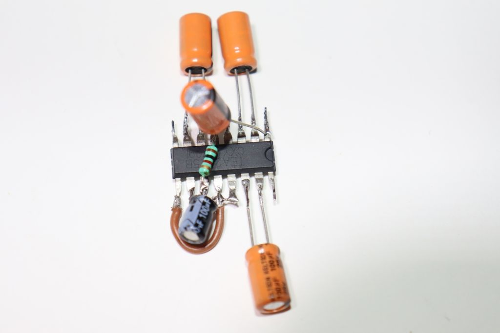 Picture of Connect 5th Capacitor