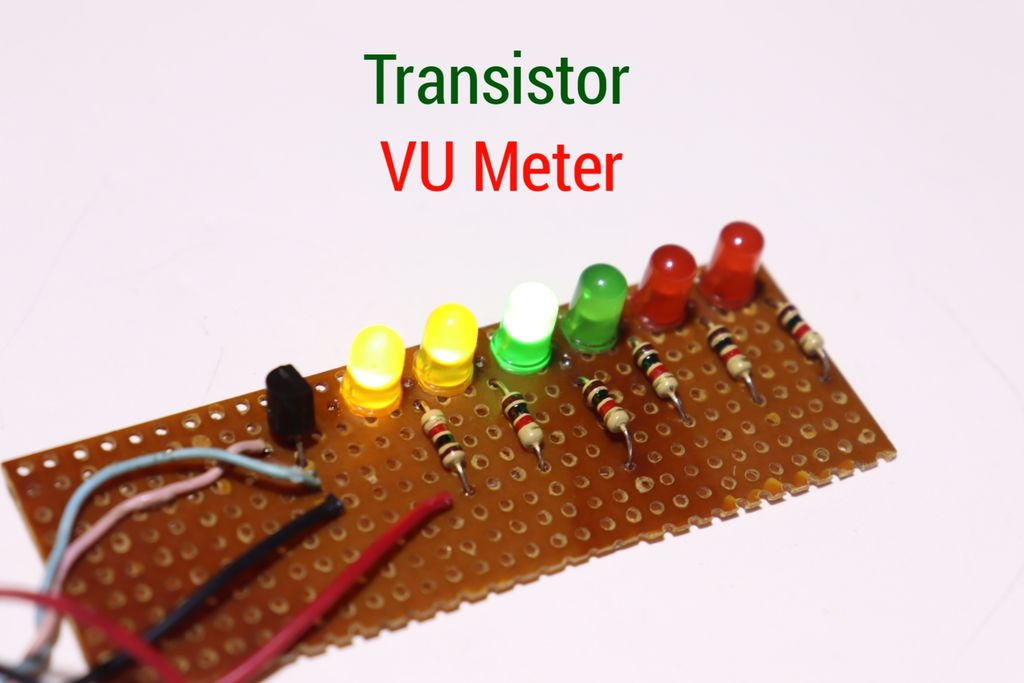 Picture of How to Make VU Meter Using Transistor