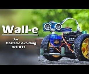WALL-E,一种避障机器人