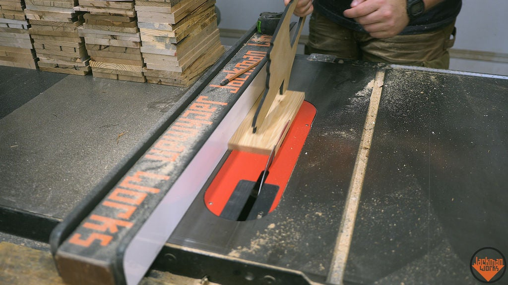 Picture of Cutting to Width and Resawing