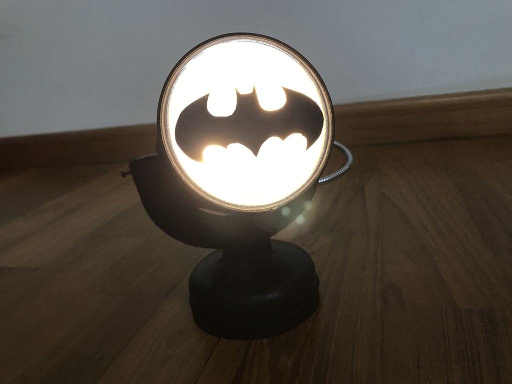 Picture of Bat Signal Night Light