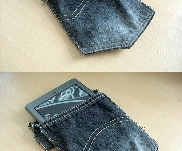 Denim Kindle Sleeve