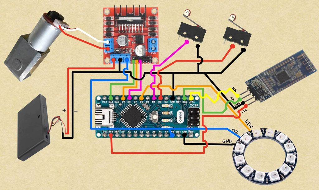 Picture of Connect Arduino and Motor Driver