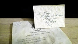 Your Own Hogwarts Acceptance Letter