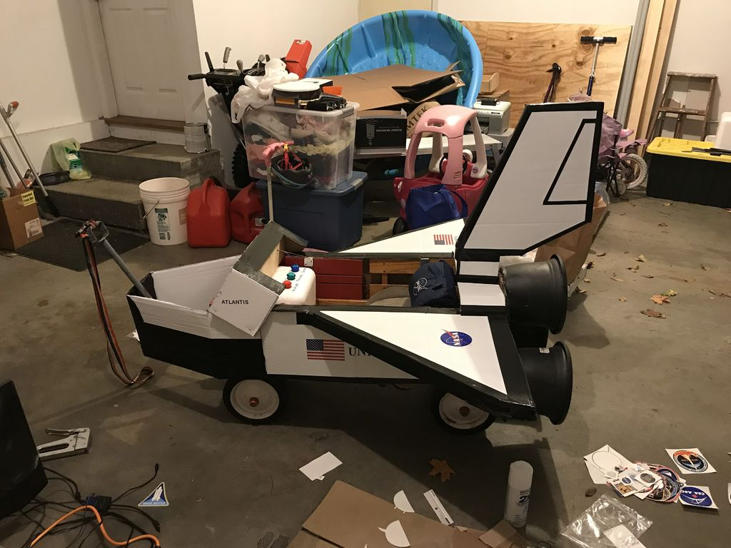 Picture of Out of This World Space Shuttle Wagon!