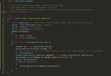 PRNG - Algortihm : (Linear_Congruential_Generator)