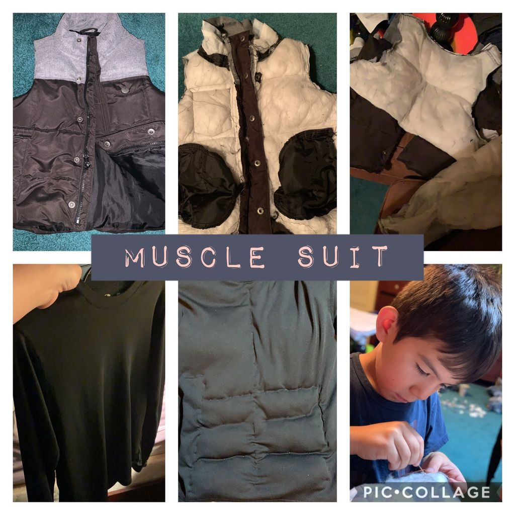 Picture of Homemade Muscle Suit