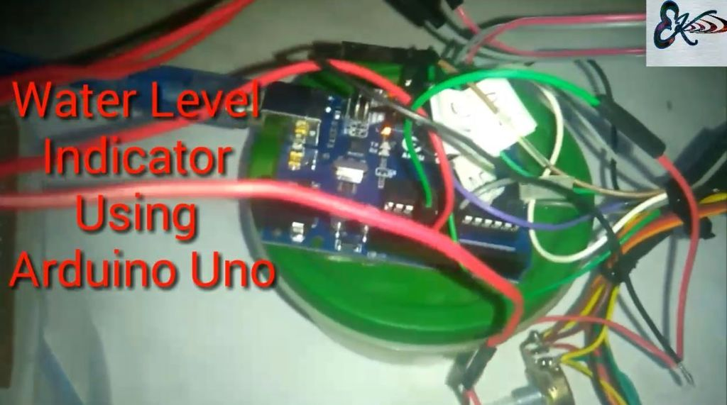 Picture of Water Level Indicator Using Sr04 Sensor