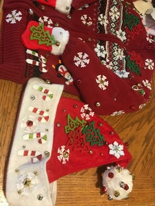 "Homemade Child ""ugly"" Christmas Sweater"