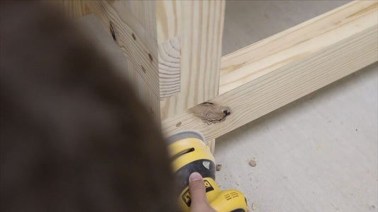 HAMMER AND SAND DOWEL PLUGS
