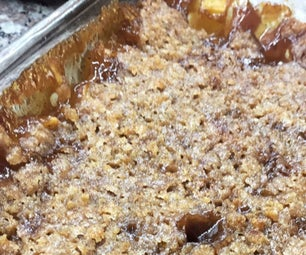 Apple Crumble Bake