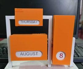 Silly Solutions: Endless Calendar