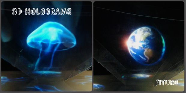 Picture of 3D HOLOGRAMS PYRAMID-for Smartphones, Tablets and Laptops