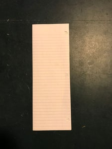 Fold the Paper in Half Vertically.