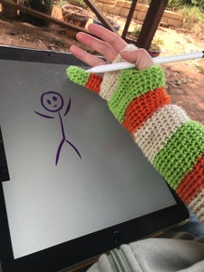 Winter Drawing Glove