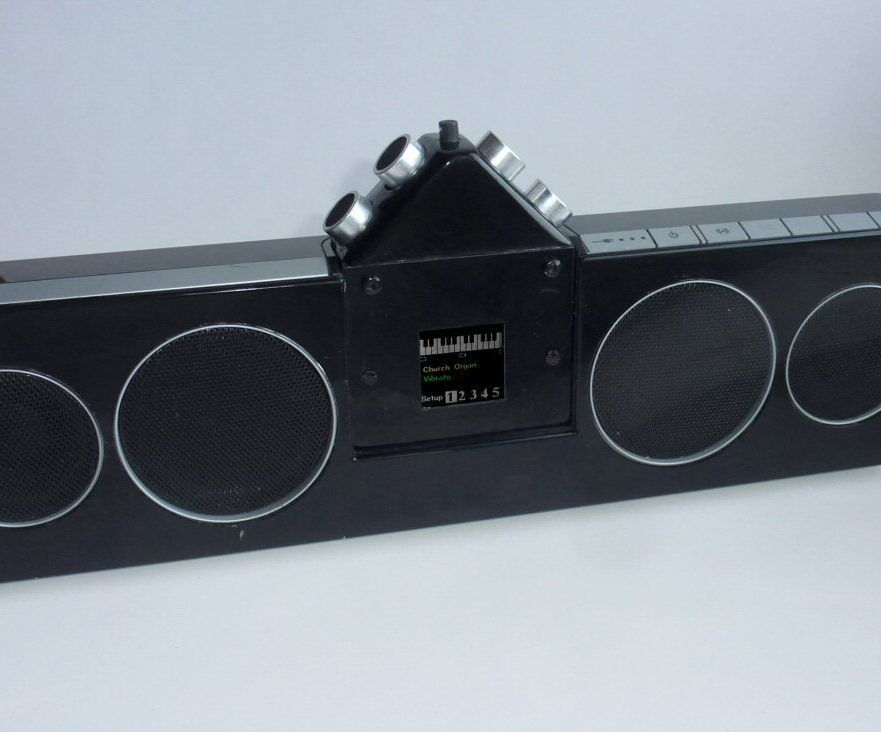 "MIDI Sonar ""Theremin"""