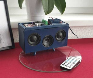 3D Printed Bluetooth Speaker