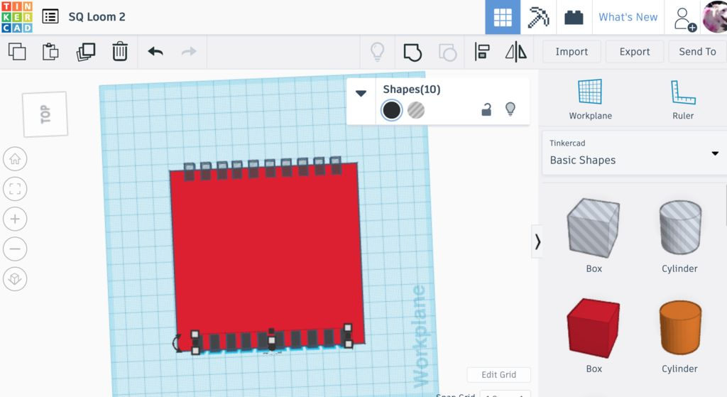 Picture of TinkerCAD Part 1