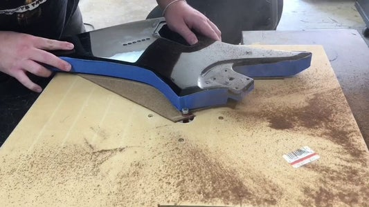 Drilling/Routing the Cavities Template