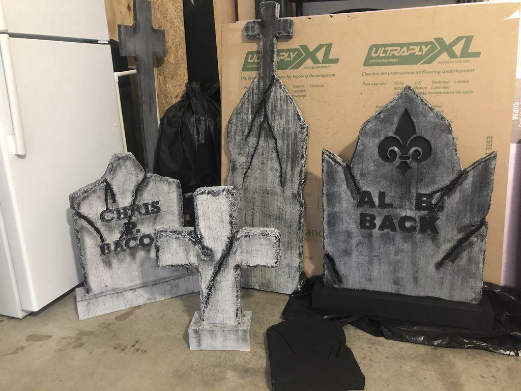 Picture of Halloween Foam Tombstones