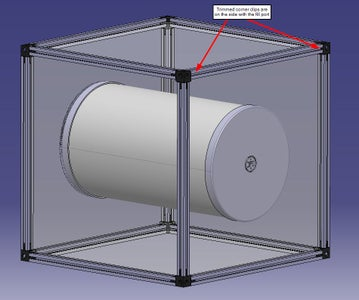 Model Aeration Side End Cap