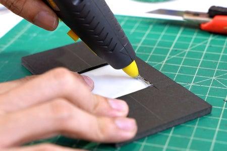 Gluing the Plexiglass Diffuser