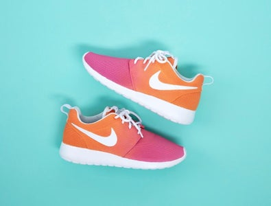 DIY Custom Ombre Shoes