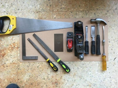 Things Needed: Woodworking Tools
