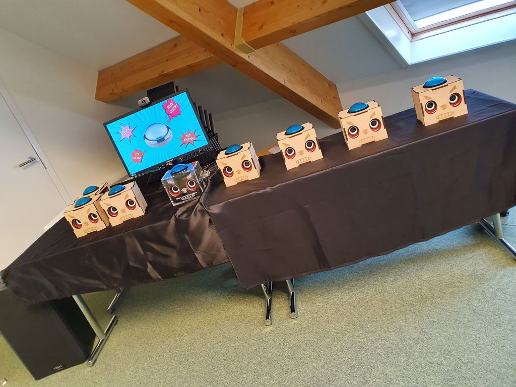 Picture of Button Party - Photobooth (Raspberry PI)