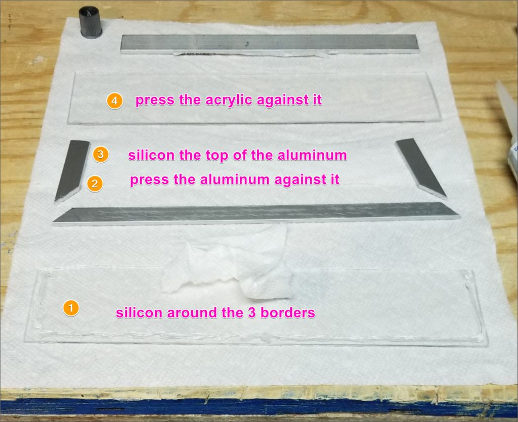 Picture of Part 1b - Put the Test Window Panel Together (optional)