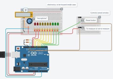 5V Circuitry: Arduino