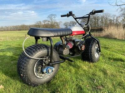 Homemade Fat Wheel Mini Bike