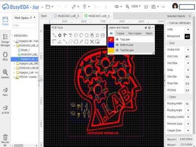 Convert the Schematic Created in PCB