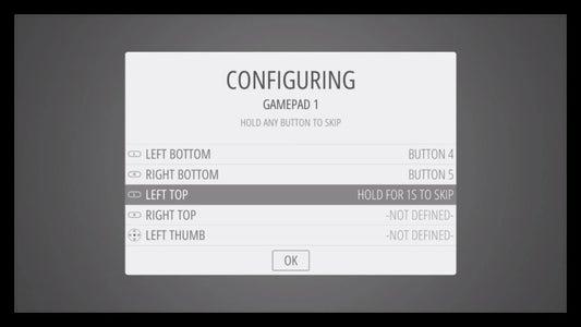 Configuring Gamepad