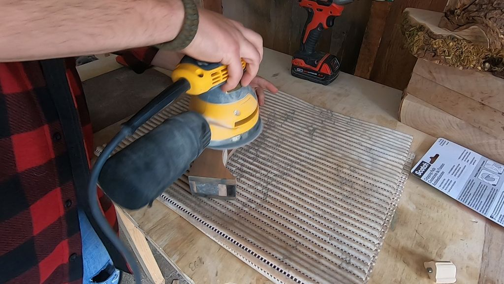 Picture of Finish Sanding