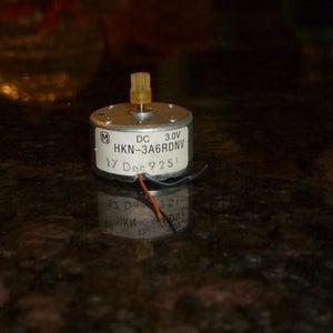 Heat Shrink Tubing/Motor Wiring