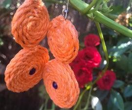 Summer Yarn Earrings