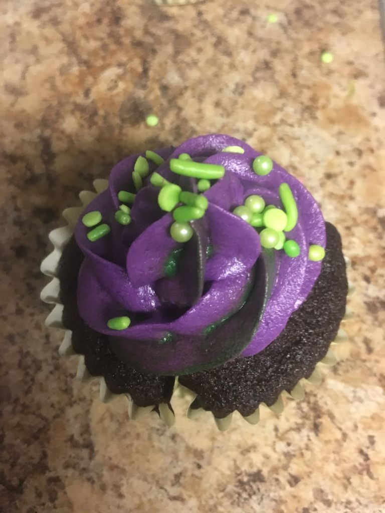 Picture of Wicked Witch Cupcake