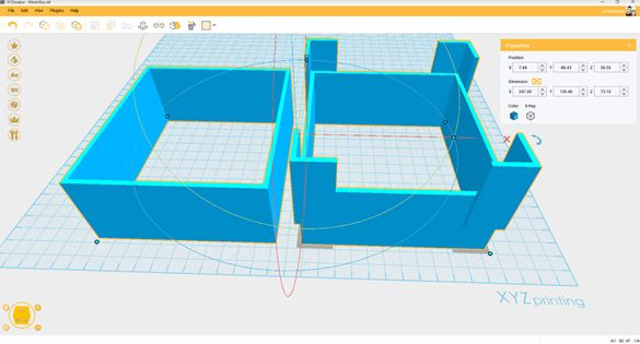 Picture of Step 2: Create and 3D Print a Mold Box