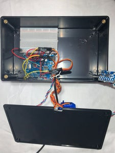 Components Required and 3D Printed Parts