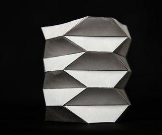 Origami Ballistic Barrier Paper Model