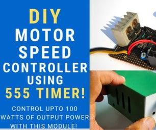 DIY电机调速控制器,低压断电