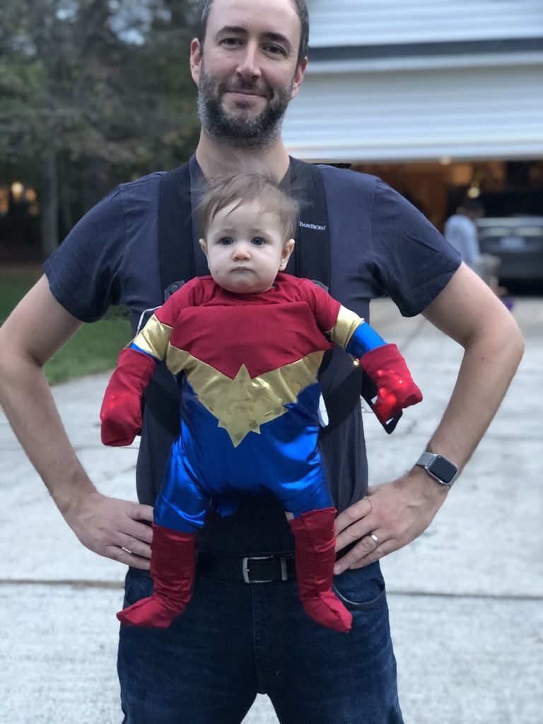 Picture of Little Ms. Captain Marvel Costume