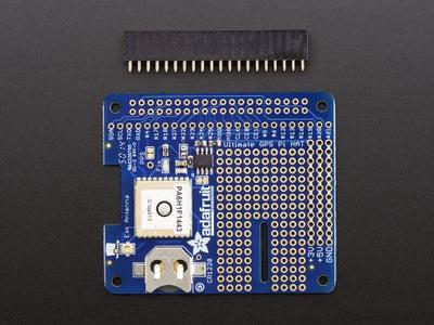 Solder 40-pin Header to GPS HAT