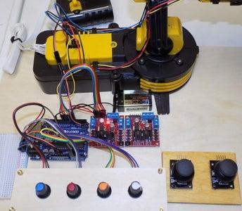 Control OWI Robotic Arm